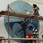 festival de jazz-berchidda, italia - mural